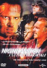 Highlander - L'ultimo Immortale (2010) DVD Slim Case