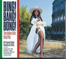 Bing! Bang Bong! - The Italian Girls Sing Pop - 60 Original Italian Classics 3CD
