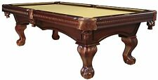 NEW 8ft Pool Table Antique Walnut, w/ DINING TOP, DELIVERY AND INSTALL INCLUDED!