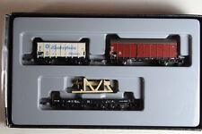 Märklin Mini Clup 86582 Güterwagen-Set 3-teilig DB Epoche III, Neuware.