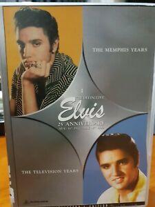 ELVIS DVD : THE MEMPHIS YEARS - 25th Ann (Pal, 2012) Free Post