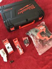 milwaukee Fuel Drill M12 Cordless Hammer New Boxed Case & Accesorise & Battery