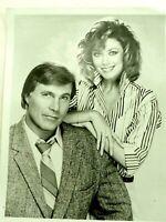Sidekicks -- Gil Gerard & Nancy Stafford 1986 ABC Promo Media Photo 8x10
