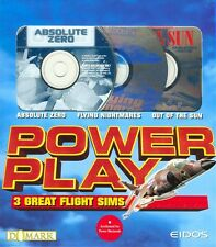 Power Play: 3 Great Flight Sims (3MAC-CDs, 1996) Power Macintosh -NEW in BIG BOX