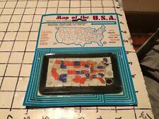 Original unused sealed MAP OF THE USA slide puzzle