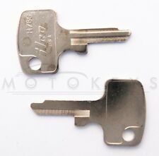 Key Blank for classic 1970s Honda motorcycles CB750 350 500 Four H76G 67LB