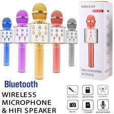 More details for wireless bluetooth karaoke microphone speaker handheld ktv player singing mic