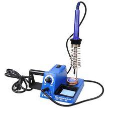 60W SMD Welder Soldering Rework Iron Station Gun w/Rosin & Cleaning Tip Tools