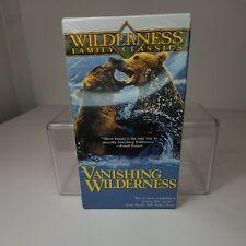VHS Wilderness Family Classics / Vanishing Wilderness New Sealed