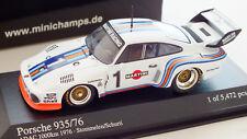 MINICHAMPS- 400766301- PORSCHE 935/76 N° 1 ADAC 1000km 1976 Stommelen