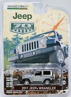 GreenLight 2011 Jeep Wrangler 70th Anniversary Series #27770 New NRFP Gray 1:64