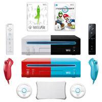 Nintendo Wii Konsole -  2 Remotes + Mario Kart + Wii Fit + Balance Board