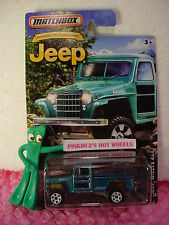 2016 Matchbox JEEP WILLYS 4X4 ☆Teal-Green☆Anniversary Edition☆NIP☆1:64