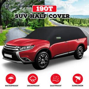 Half Body Top Roof Cover SUV Sun UV Rain Snow Protect Waterproof Outdoor Indoor