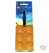 LEGO Legend Of Chima - Luggage Tag - Gold - New - (Suitcase)
