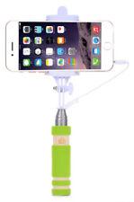 Yemota Selfie Stick Stange Stativ Knopf Monopod Selbstauslöser IOS Android Grün