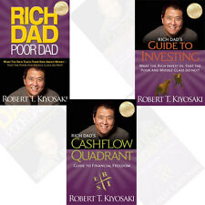 Robert T Kiyosaki  3 Books Collection Set (Rich Dad Poor Dad,Guide to Investing)