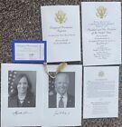 Joe Biden Inauguration Ticket Program invitation Commemorative Package