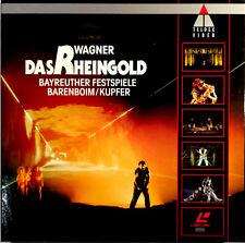 Wagner: Das Rheingold Bayreuther Festspiele: Barenboim 1991 PAL/LBX 4509-91122-6