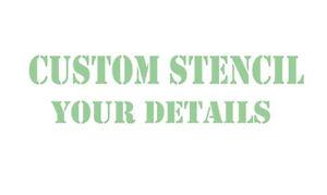 STENCILS & Masks  PRO QUALITY  CUSTOM  STENCILS   to your needs