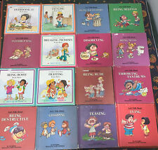 Lot Of 16 Joy Berry Help Me Be Good Let's Talk About Children's Books Hardcover
