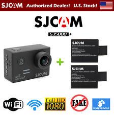 SJCAM SJ5000+ Plus Ambarella A7LS75 1080P WiFi Action Camera with 2 Batteries!