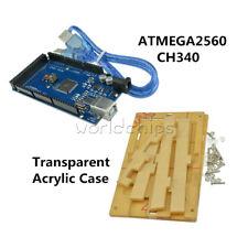 Boîtier acrylique Transparent  pour Arduino MEGA 2560 et compatible 1024Z