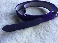 ALL-STAR YOUTH BASEBALL SOFTBALL ADJUSTABLE ELASTIC PURPLE BELT