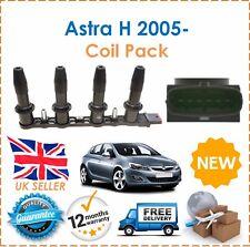 für Vauxhall Astra H MK 5 V 1.6i 1.8i 16V 2005- HT Zündspule Satz NEU