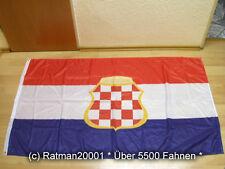 Bandiere Bandiera Croazia REPUBBLICA Herceg Bosna stampa digitale - 90 x 150 cm