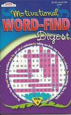 MOTIVATIONAL QUOTES WORD FIND DIGEST WORD SEARCH FUN PUZZLE BOOK VOLUME 4