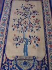 """FINE ANTIQUE CHINESE PEKING HAND KNOTTED WOOL TREE VASE ORIENTAL RUG  3' x 5'9"""""""