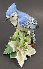 """1998 Lenox Christmas Blue Jay Fine Porcelain Figurine 5.5"""" Free U S Shipping"""