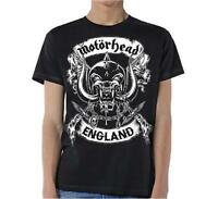 OFFICIAL LICENSED - MOTORHEAD - CROSSED SWORDS ENGLAND T SHIRT METAL LEMMY