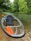 Clear / Transparent Canoe/Kayak 11' long, 3' wide by Cypress Rowe Outfitters