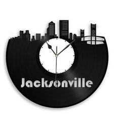 Jacksonville Clock Skyline Vinyl Wall Art Cityscape Sign Ideal for Indoor Decor