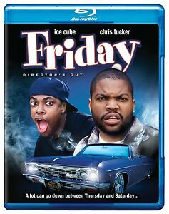 FRIDAY (1995) - DIRECTOR'S CUT ICE CUBE CHRIS TUCKER BLU RAY