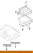 NISSAN OEM 90-96 300ZX Liftgate Tailgate-Reveal Molding 9037230P00