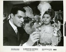 SOPHIA LOREN JOHN GAVIN A BREATH OF SCANDAL 1960 VINTAGE PHOTO ORIGINAL #2
