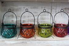 Glass Moroccan Tabletop Candle & Tea Light Lanterns