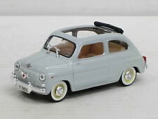 Seat 600 D offen (1964) in hellgrau ohne OVP, Solido, 1:43