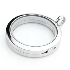 Locket Living Memory Glass for Charms 1pc Stainless Steel magnetic 30mm Floating