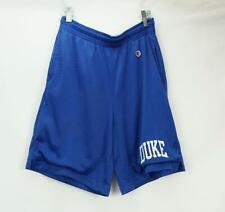 Vintage 90's Champion Duke Blue Devils Blue Mesh Basketball Shorts Men's Small