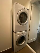 Lg Washing Machine Dryer Stackable Set - 4.5 cu ft. Front Load Wm2250Cw Dle2250W
