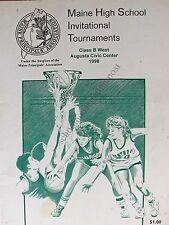 Maine High School Basketball Tournament 1998 Class B West At Augusta