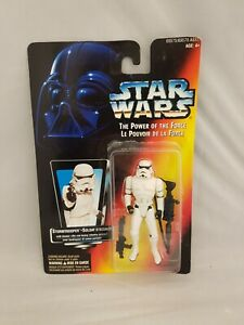 Star Wars POTF Canadian Card Stormtrooper 1995 Action Figure new
