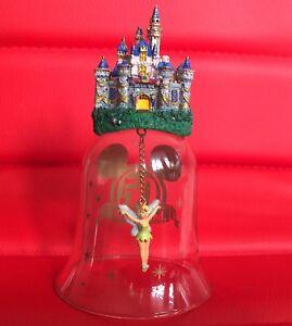 Disneyland 50 Anniversary Tinker bell Glass Bell