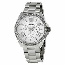 Fossil Cecile Stainless Steel Case Dress/Formal Wristwatches