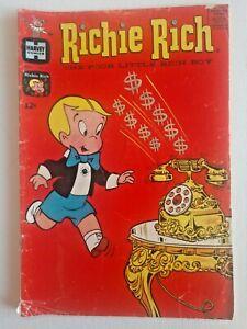 Richie Rich Nov. 1964, Vol. 1 No. 27 Harvey Comic Silver Age