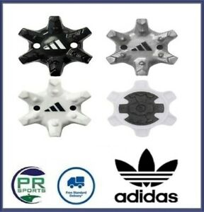 New Adidas Golf Shoe Spikes Fast Twist Selection Black Silver White
